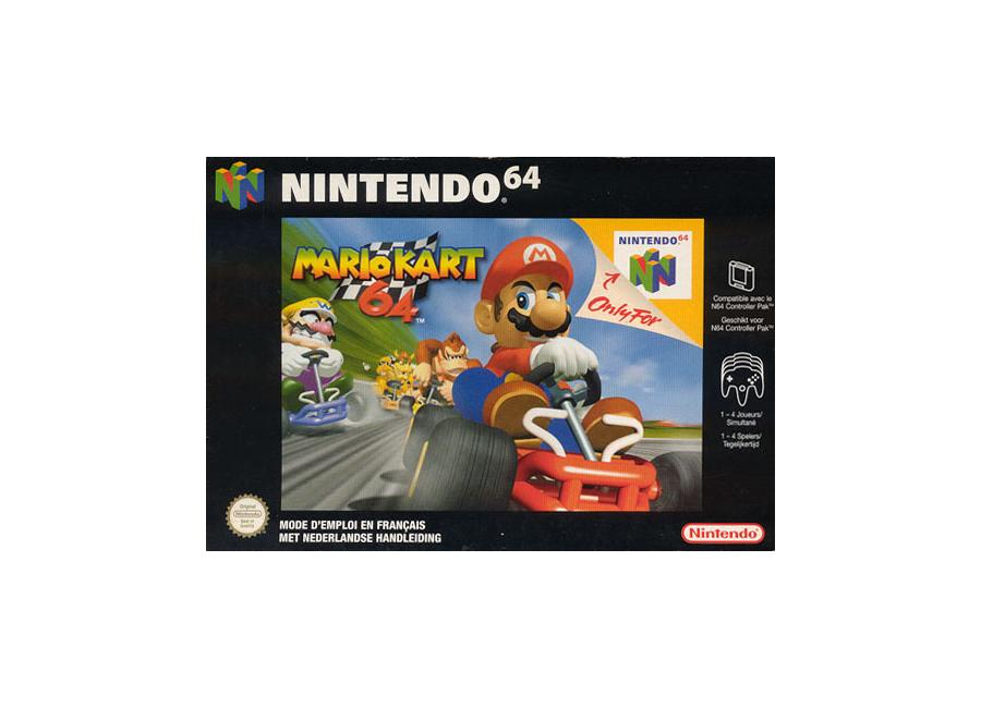 Jeux Vidéo Mario Kart 64 Nintendo 64