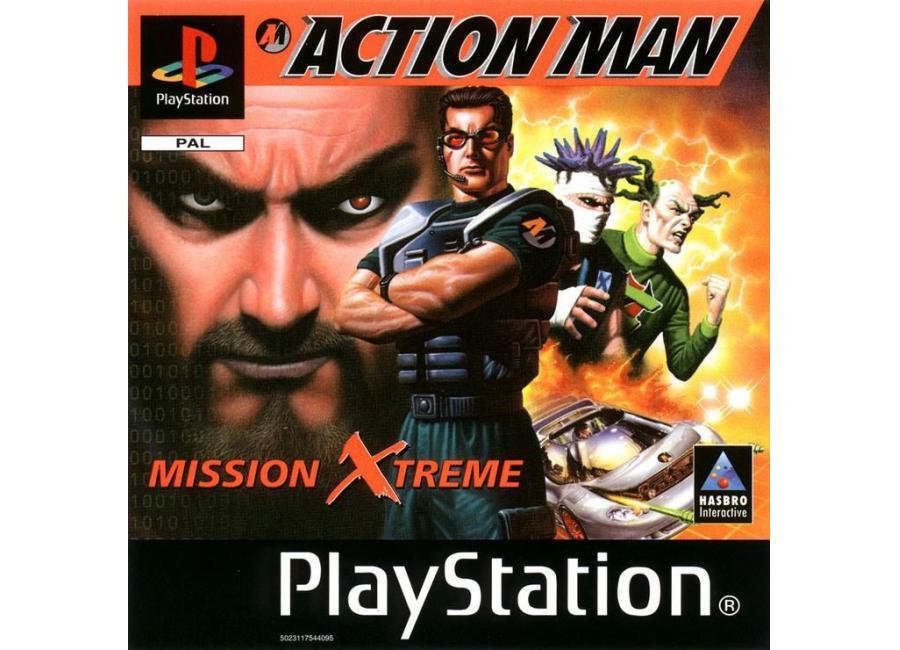 jeux vid o action man mission extreme playstation 1 ps1 d 39 occasion. Black Bedroom Furniture Sets. Home Design Ideas