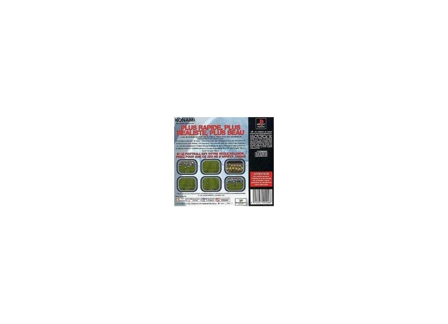 Jeux Vidéo Pro Evolution Soccer 2 Playstation 1 (PS1) d'occasion