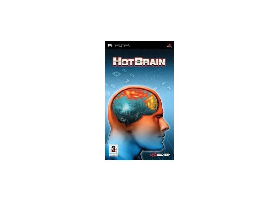 jeux vid o hot brain playstation portable psp d 39 occasion. Black Bedroom Furniture Sets. Home Design Ideas
