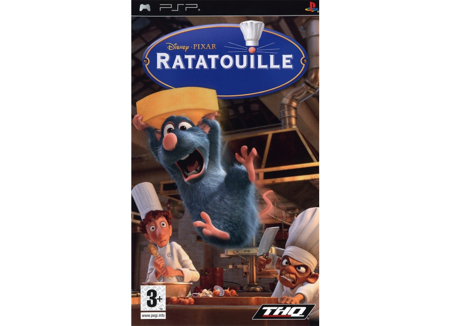 jeux psp ratatouille
