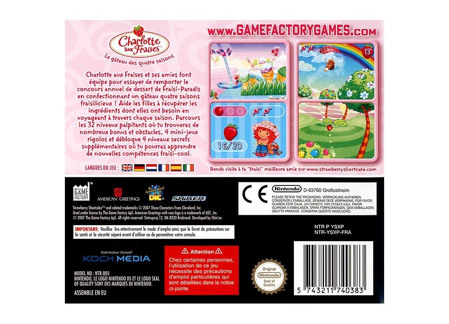 Jeux vid o charlotte aux fraises le gateau des quatre - Jeux de charlotte aux fraises cuisine gratuit ...