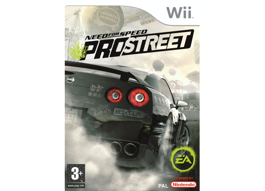 jeux vid o need for speed prostreet wii d 39 occasion. Black Bedroom Furniture Sets. Home Design Ideas