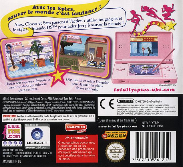 Jeux Vidéo Totally Spies! 3 DS D'occasion