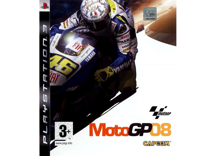 jeux vid o motogp 08 playstation 3 ps3 d 39 occasion. Black Bedroom Furniture Sets. Home Design Ideas