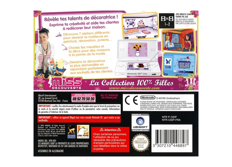 Jeux vid o lea passion decoration ds d 39 occasion for Lea passion decoration