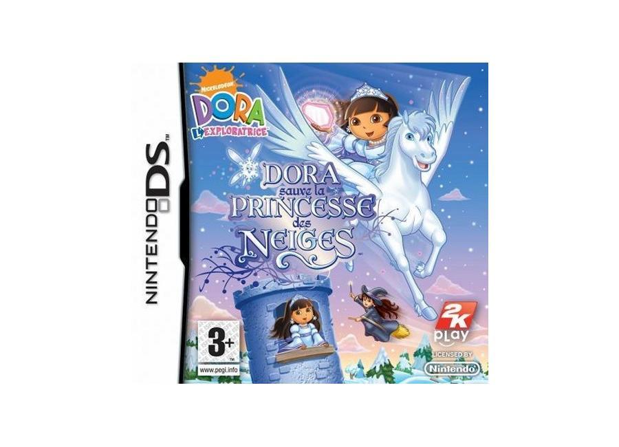 Dora princesse des neiges colorier les enfants - Dora princesse des neiges ...
