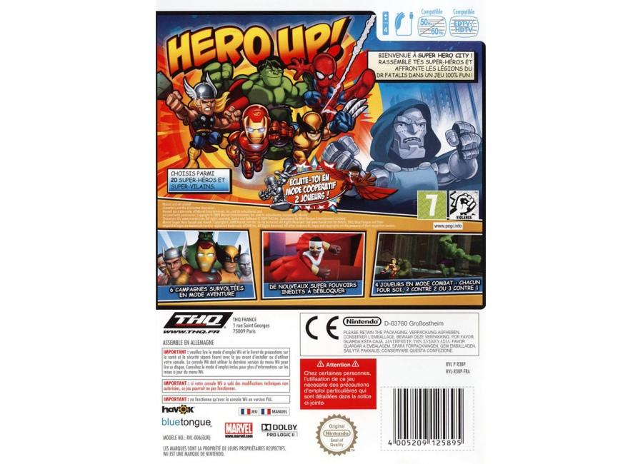 jeux vid o marvel super hero squad wii d 39 occasion. Black Bedroom Furniture Sets. Home Design Ideas
