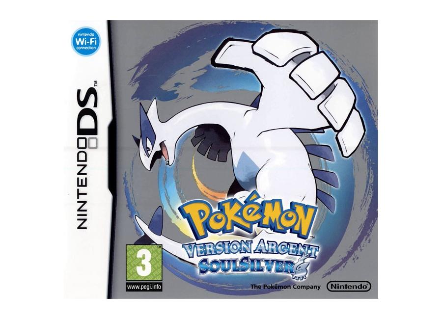 Jeux vid o pokemon version argent soulsilver ds d 39 occasion - Jeux info pokemon ...