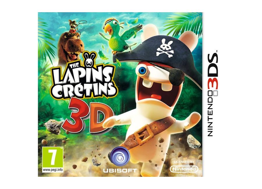 Jeux vid o the lapins cr tins 3d 3ds d 39 occasion - Jeux lapin cretain gratuit ...