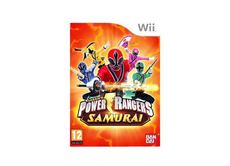 jeux vid o power rangers samurai wii d 39 occasion. Black Bedroom Furniture Sets. Home Design Ideas