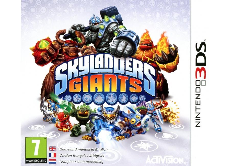Jeux vid o skylanders giants 3ds d 39 occasion - Skylanders jeux gratuit ...