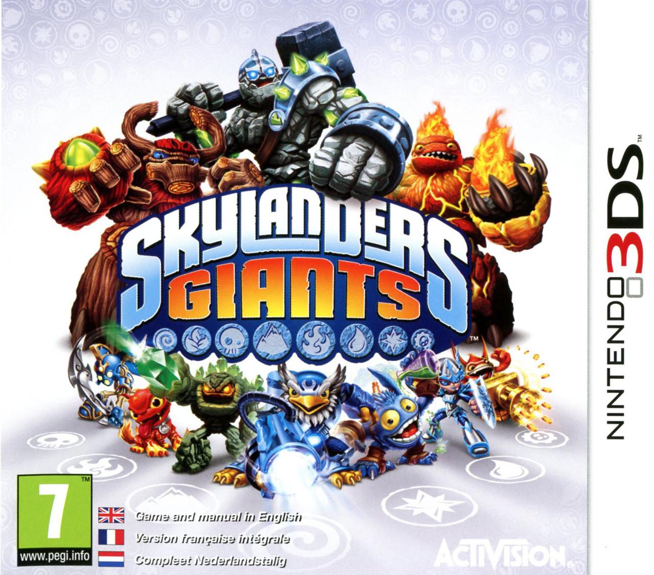 Jeux vid o skylanders giants 3ds d 39 occasion - Jeux gratuit skylanders ...