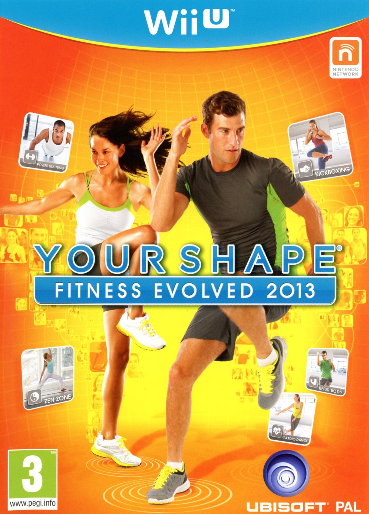 jeux vid o your shape fitness evolved 2013 wii u d 39 occasion. Black Bedroom Furniture Sets. Home Design Ideas