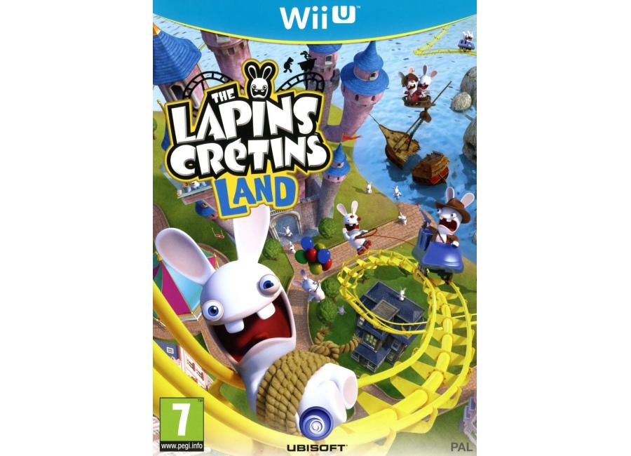 Jeux vid o the lapins cr tins land wii u d 39 occasion - Jeux lapin cretain gratuit ...