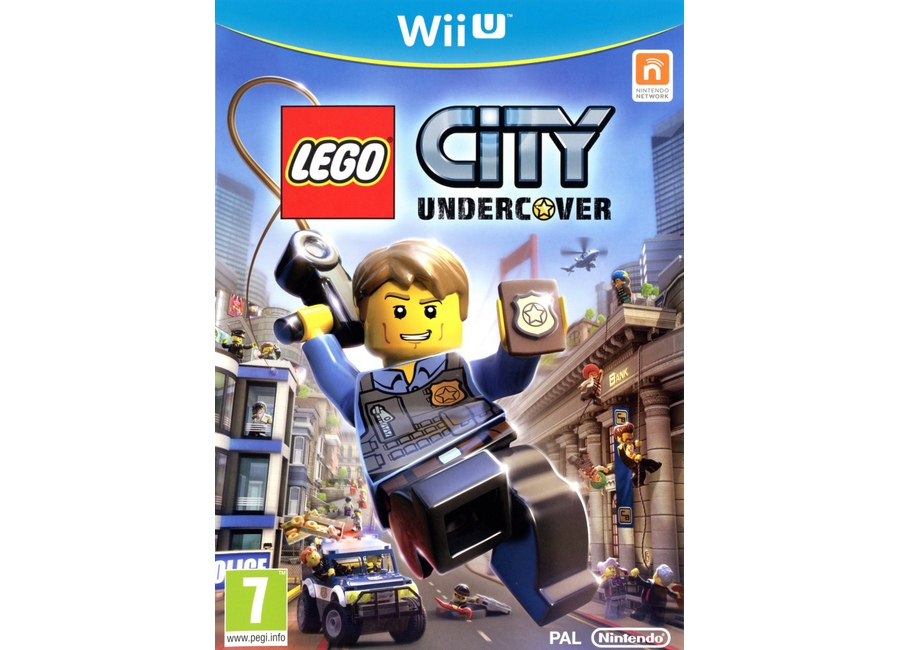 jeux vid o lego city undercover wii u d 39 occasion. Black Bedroom Furniture Sets. Home Design Ideas