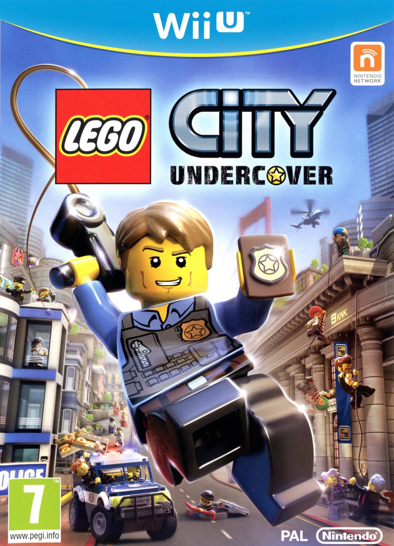jeux vid o lego city undercover wii u d 39 occasion. Black Bedroom Furniture Sets. Home Design Ideas
