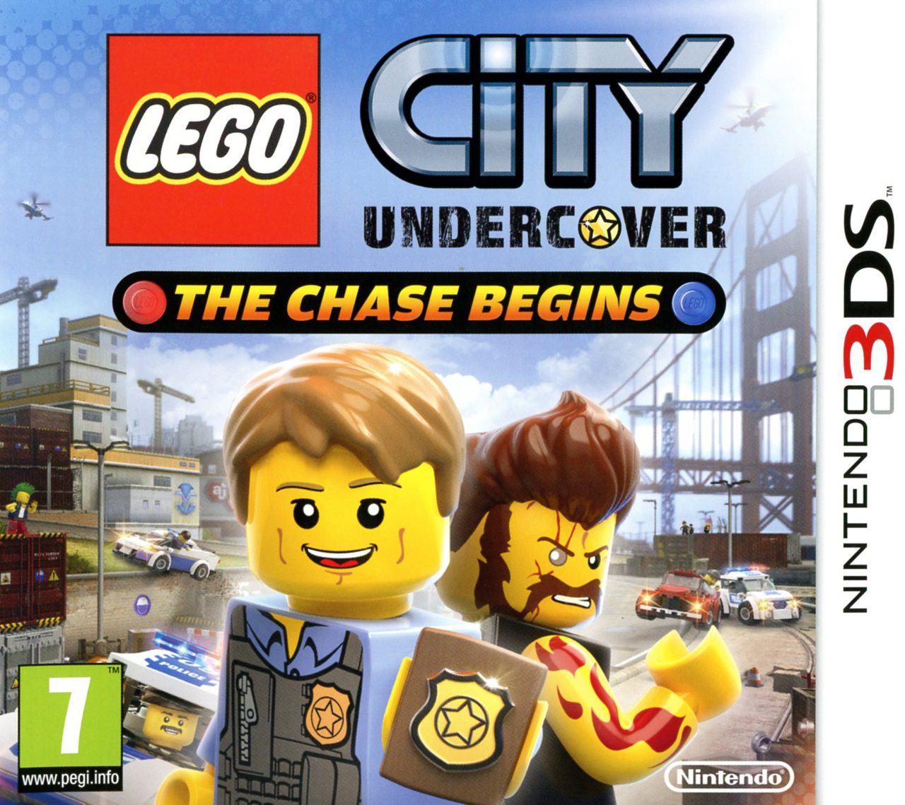 jeux vid o lego city undercover the chase begins 3ds d 39 occasion. Black Bedroom Furniture Sets. Home Design Ideas