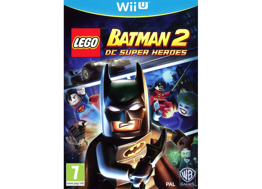 Jeux vid o lego batman 2 dc super heroes wii u d 39 occasion - Jeux lego batman 2 gratuit ...