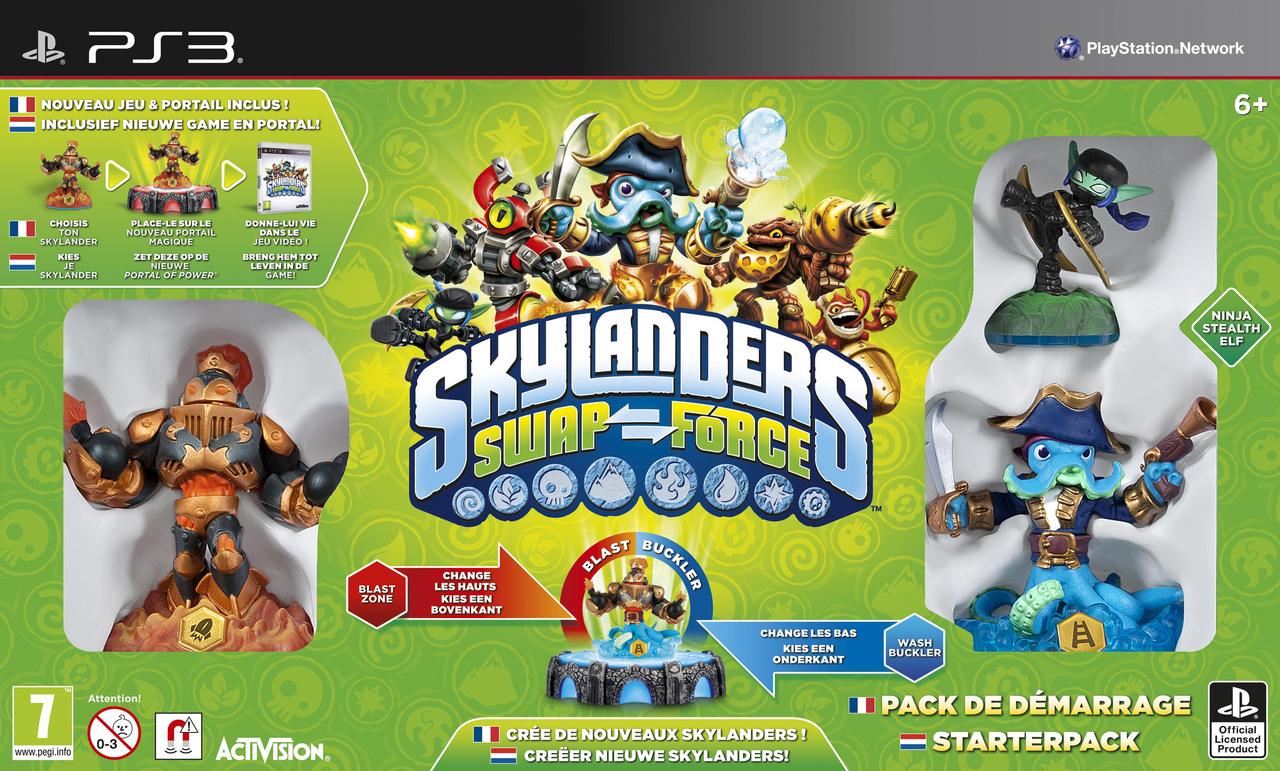 Jeux vid o skylanders swap force playstation 3 ps3 d - Skylanders jeux gratuit ...