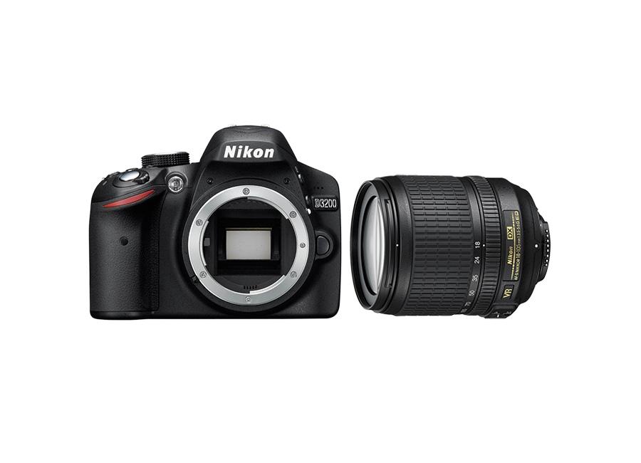 Appareils photos num riques nikon d3200 18 105vr kit noir - Appareil photo nikon d3200 pas cher ...