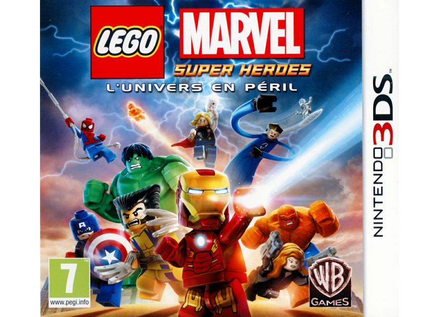 jeux vid o lego marvel super heroes l 39 univers en p ril 3ds. Black Bedroom Furniture Sets. Home Design Ideas