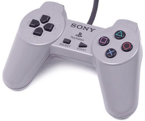 Acc. de jeux vidéo SONY Manette Playstation (PS1) grise ...