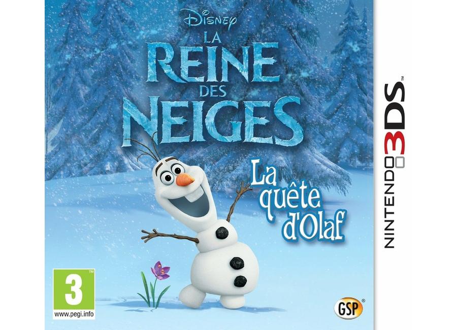 Jeux vid o la reine des neiges la qu te d 39 olaf 3ds d 39 occasion - Jeux de reine des neige gratuit ...