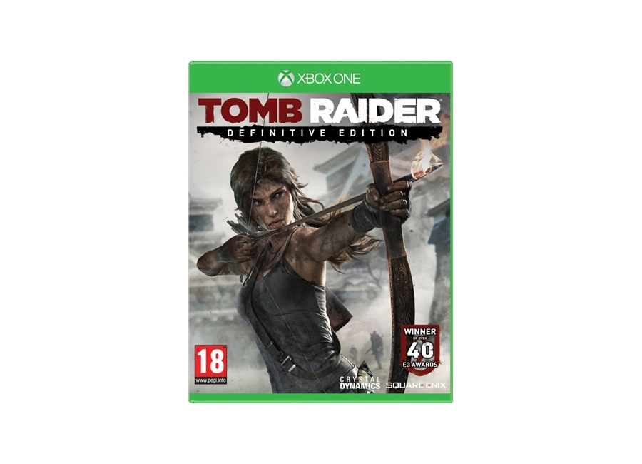 jeux vid o tomb raider definitive edition xbox one d 39 occasion. Black Bedroom Furniture Sets. Home Design Ideas