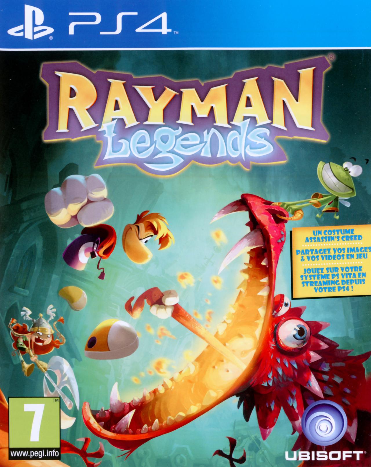 Jeux vid o rayman legends playstation 4 ps4 d 39 occasion - Jeux en ligne ps4 ...