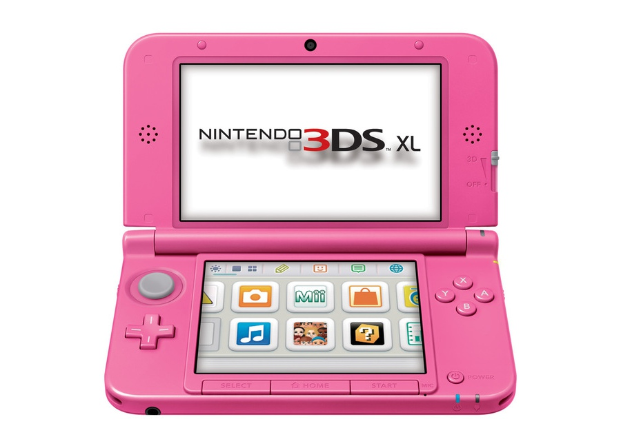 Nintendo 3ds xl rose d 39 occasion - Console nintendo 3ds xl occasion ...