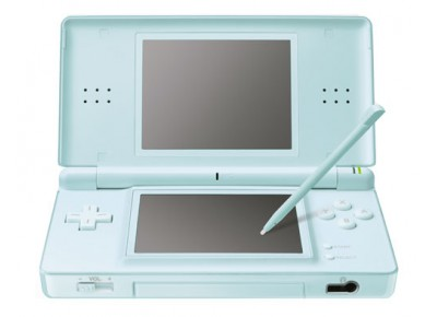 nintendo ds lite ice blue bleu ciel d 39 occasion. Black Bedroom Furniture Sets. Home Design Ideas