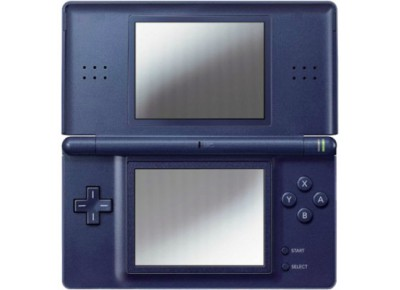 nintendo ds lite bleu fonc d 39 occasion. Black Bedroom Furniture Sets. Home Design Ideas