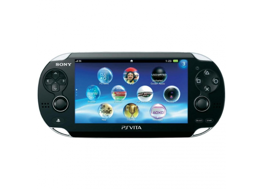 sony ps vita 3g wifi noir d 39 occasion. Black Bedroom Furniture Sets. Home Design Ideas
