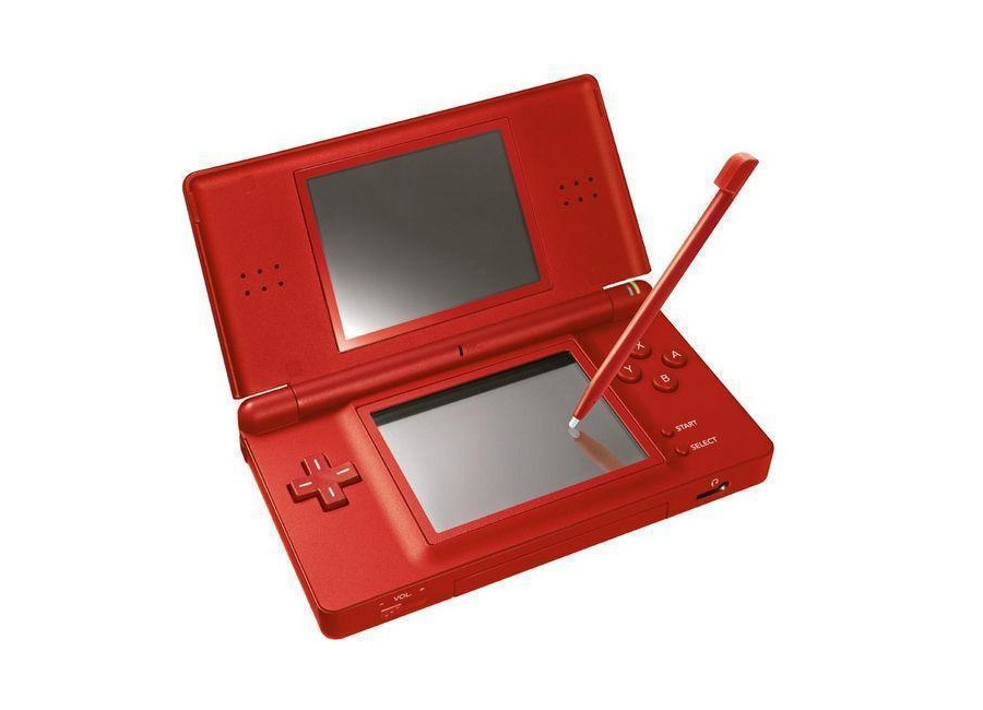 nintendo ds lite rouge d 39 occasion. Black Bedroom Furniture Sets. Home Design Ideas