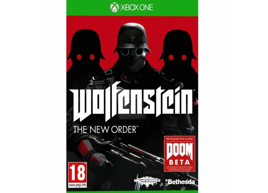 jeux vid o wolfenstein the new order xbox one d 39 occasion. Black Bedroom Furniture Sets. Home Design Ideas