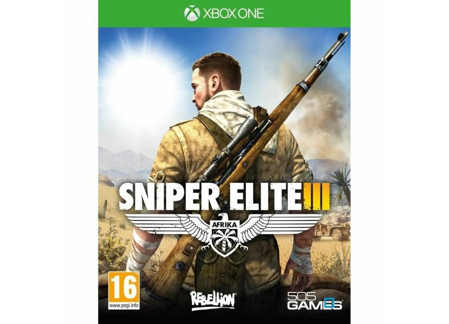 jeux vid o sniper elite iii xbox one d 39 occasion. Black Bedroom Furniture Sets. Home Design Ideas