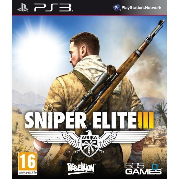 jeux vid o sniper elite iii playstation 3 ps3 d 39 occasion. Black Bedroom Furniture Sets. Home Design Ideas
