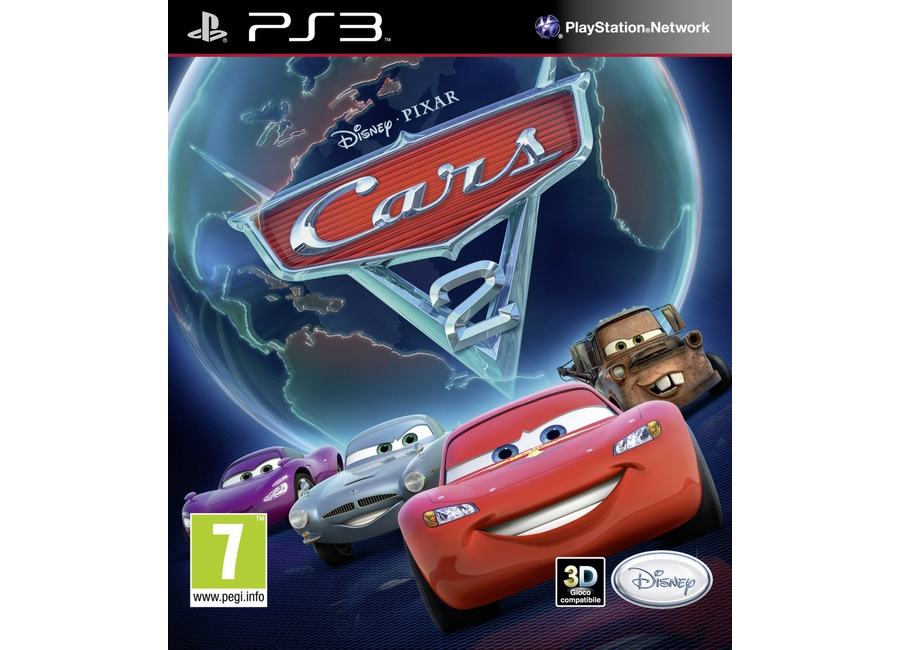 jeux vid o cars 2 playstation 3 ps3 d 39 occasion. Black Bedroom Furniture Sets. Home Design Ideas