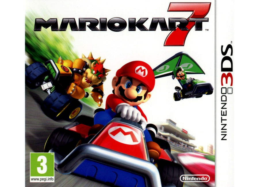 jeux vid o mario kart 7 3ds d 39 occasion. Black Bedroom Furniture Sets. Home Design Ideas