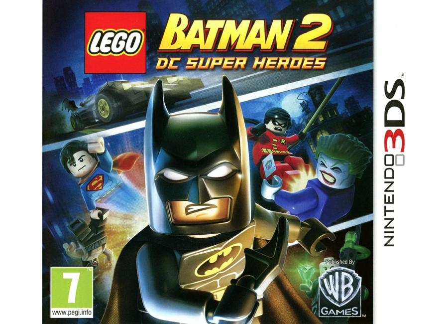 Jeux vid o lego batman 2 dc super heroes 3ds d 39 occasion - Jeux lego batman 2 gratuit ...
