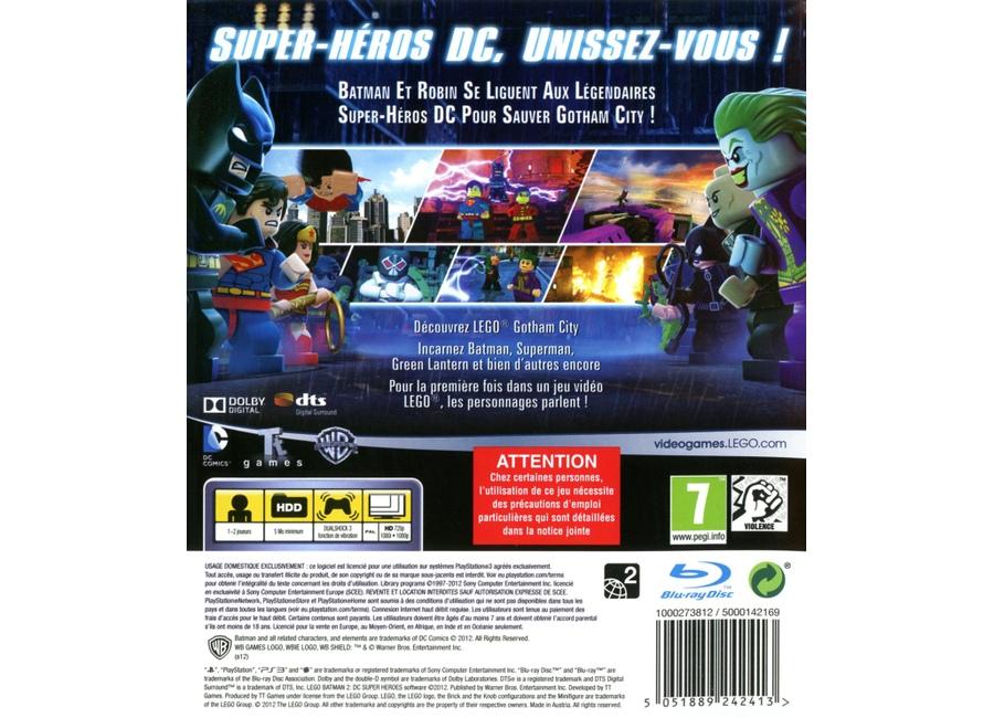 Jeux vid o lego batman 2 dc super heroes playstation 3 ps3 d 39 occasion - Jeux lego batman 2 gratuit ...