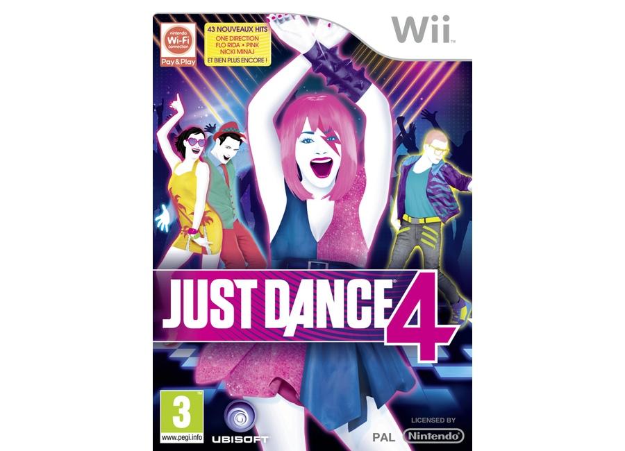 Jeux Vidéo Just Dance 4 Wii d'occasion