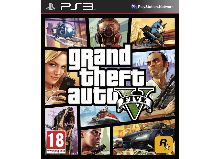 jeux vid o grand theft auto v gta 5 playstation 3 ps3 d 39 occasion. Black Bedroom Furniture Sets. Home Design Ideas