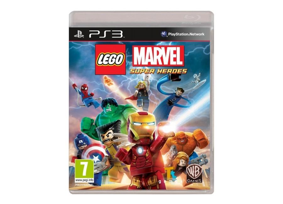 jeux vid o lego marvel super heroes playstation 3 ps3 d. Black Bedroom Furniture Sets. Home Design Ideas