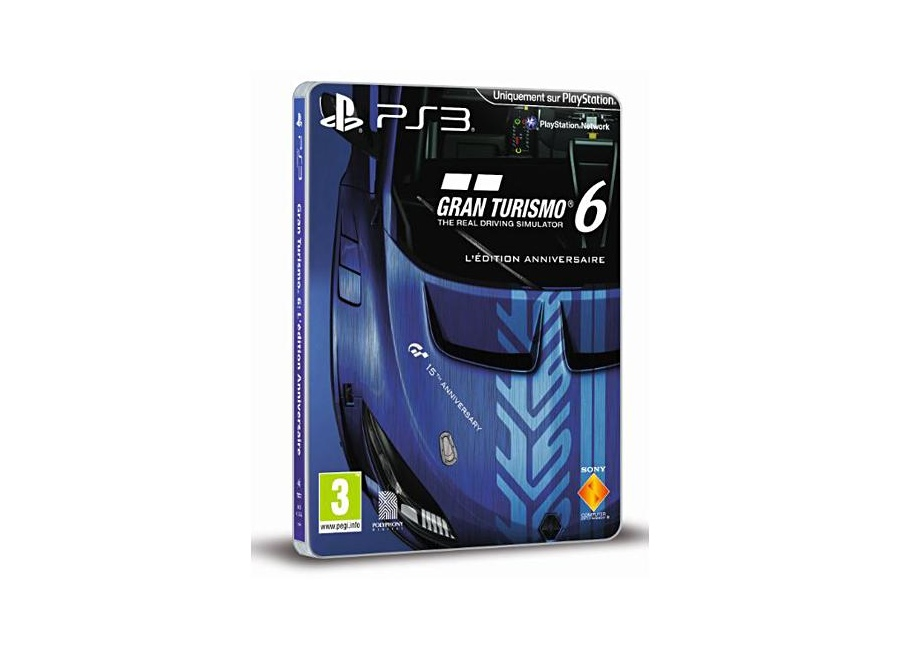 jeux vid o gran turismo 6 edition anniversaire playstation. Black Bedroom Furniture Sets. Home Design Ideas