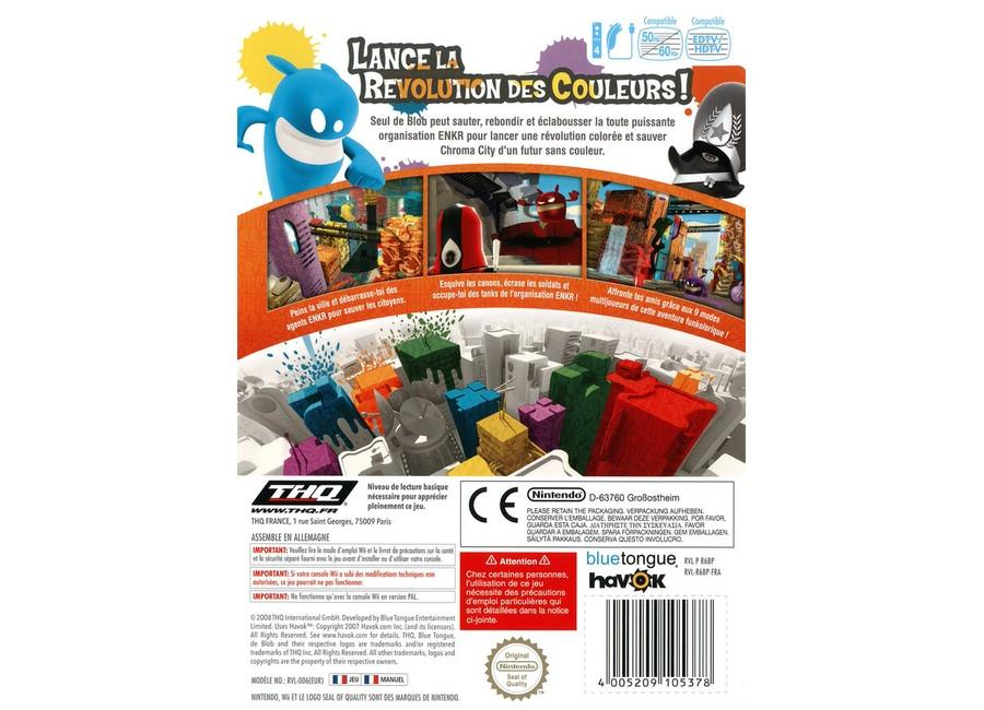 jeux vid o de blob wii d 39 occasion. Black Bedroom Furniture Sets. Home Design Ideas