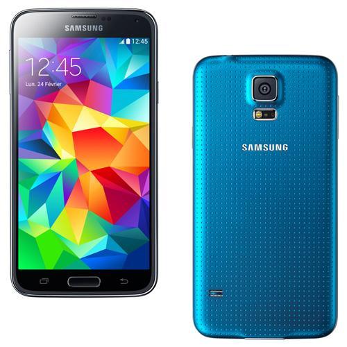 smartphones samsung galaxy s5 bleu 16 go d bloqu d 39 occasion. Black Bedroom Furniture Sets. Home Design Ideas