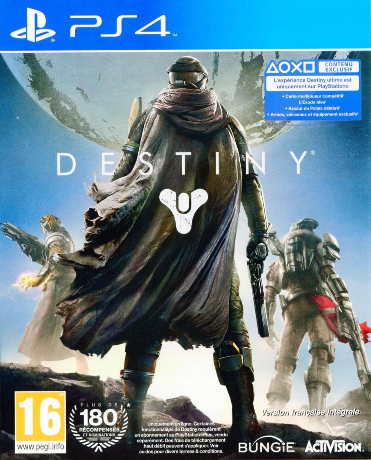Jeux vid o destiny playstation 4 ps4 d 39 occasion - Jeux en ligne ps4 ...