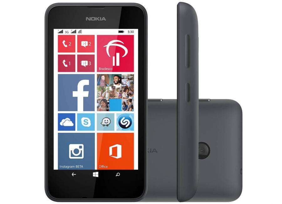 smartphones nokia lumia 530 noir 4 go d bloqu d 39 occasion. Black Bedroom Furniture Sets. Home Design Ideas
